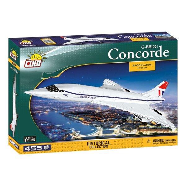 COBI 1917 Concorde G-BBDG