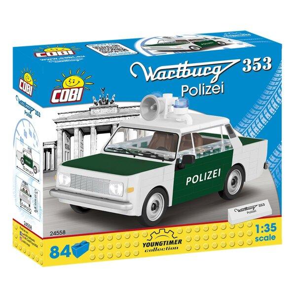 COBI 24558 Wartburg 353 Polizei