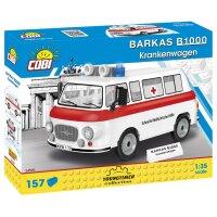 COBI 24595 Barkas B1000 Krankenwagen (Schnelle...