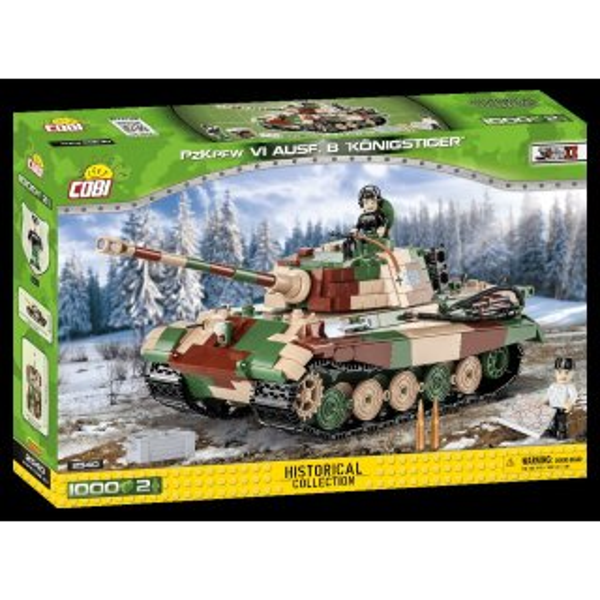 COBI 2540 Panzerkampfwagen VI Ausf. B Königstiger