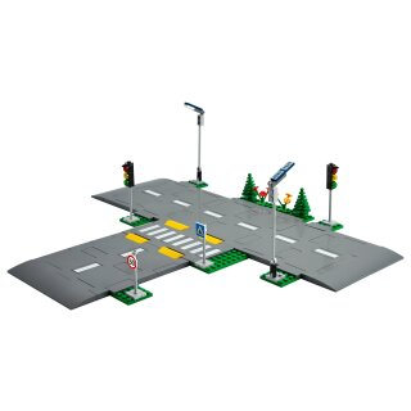 LEGO 60304 Straßenkreuzung mit Ampeln